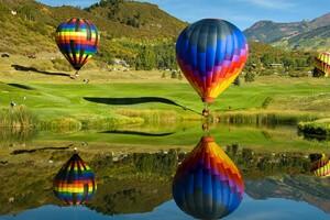 Hot Air Ballons 4 Wallpaper