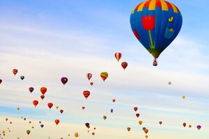 Hot Air Ballons Wallpaper