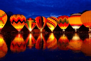 Hot Air Balloon 2 Wallpaper