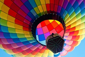 Hot Air Balloon 3 Wallpaper