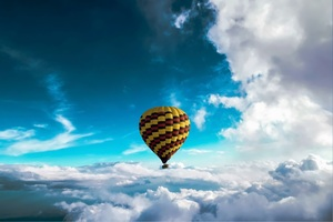 Hot Air Balloon 5k Wallpaper