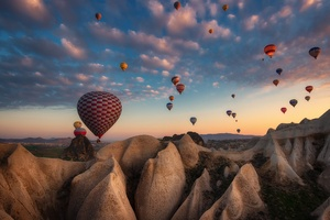 Hot Air Balloon Photography Wallpaper