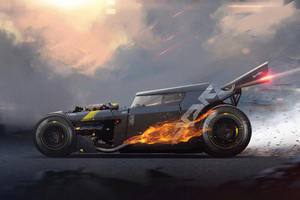 Hot Rod Speed Motors 4k Wallpaper