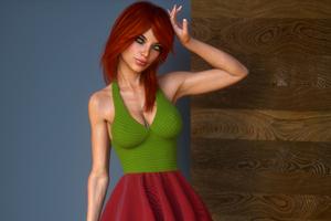 Hot Women 3d CGI