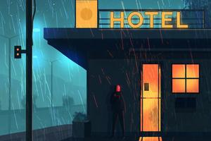 Hotel Art 4k Wallpaper