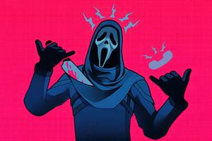 Hotline Ghost 5k Wallpaper