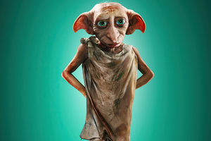 House Elf Dobby In Harry Potter And Fantastic Beasts 2 4k