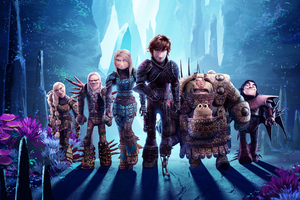 How To Train Your Dragon 3 Key Art 5k Wallpaper