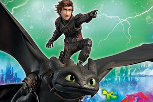 How To Train Your Dragon 5k