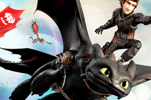 How To Train Your Dragon Into The Hidden World 4k Wallpaper