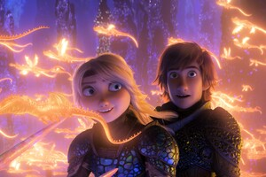 How To Train Your Dragon The Hidden World 4k
