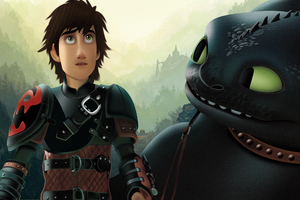 How To Train Your Dragon The Hidden World Art 4k