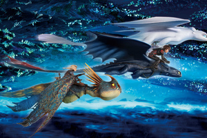How To Train Your Dragon The Hidden World Imax Wallpaper