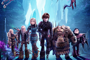 How To Train Your Dragon The Hidden World New Poster Wallpaper