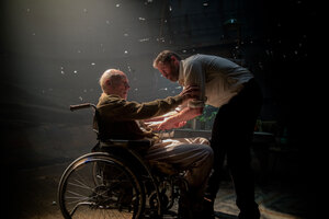 Hugh Jackman And Professor X Wallpaper
