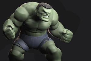 Hulk 3d Avengers Infinity War