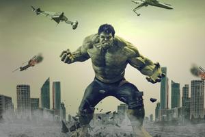 Hulk 4k Wallpaper