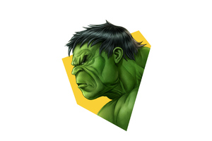 Hulk 4kminimal Wallpaper