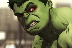 Hulk Amazing Artwork
