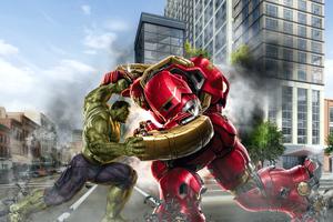 Hulk And Hulkbuster