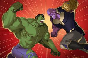 Hulk And Thanos