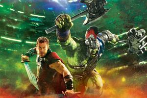 Hulk And Thor In Ragnarok Wallpaper