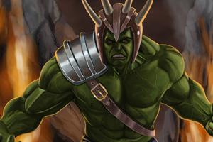 Hulk Angry Artwork