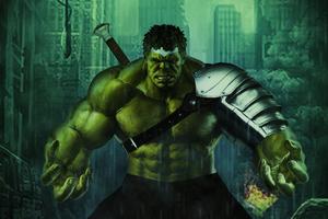 Hulk Arts Wallpaper
