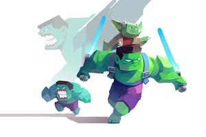 Hulk Artwork 4k 2020