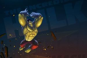 Hulk Artwork 5k