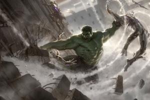 Hulk Avengers Concept Art