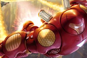 Hulk Buster War Heroes 4k