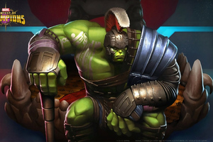 Hulk Contest Of Champions Wallpaper