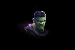 Hulk Dark 4k Wallpaper