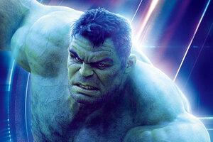 Hulk In Avengers Infinity War 8k Poster