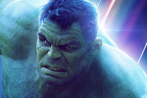 Hulk In Avengers Infinity War New Poster