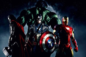 Hulk Iron Man Captain America Thor