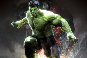Hulk Marvel Superhero Wallpaper