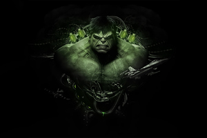 Hulk Newart Wallpaper