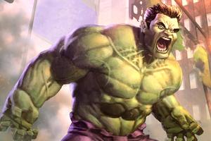 Hulk Paint Art