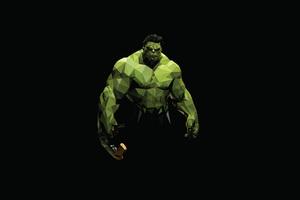 Hulk Polyart Wallpaper