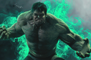 Hulk Smash 4k 2020 Wallpaper