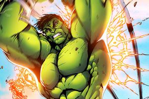Hulk Smash Boy Wallpaper
