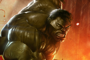 Hulk Smash New Artwork