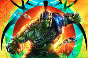 Hulk Thor Ragnarok 12k Wallpaper