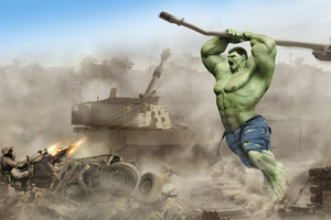 Hulk Vs Army