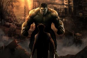 Hulk Vs Wolverine 4k Art