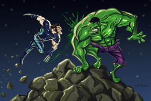 Hulk Vs Wolverine 4K