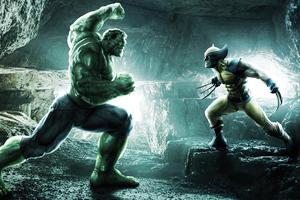 Hulk Vs Wolverine War 4k Wallpaper