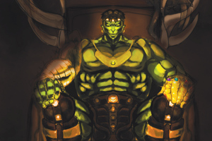 Hulk With Infinity Gauntlet